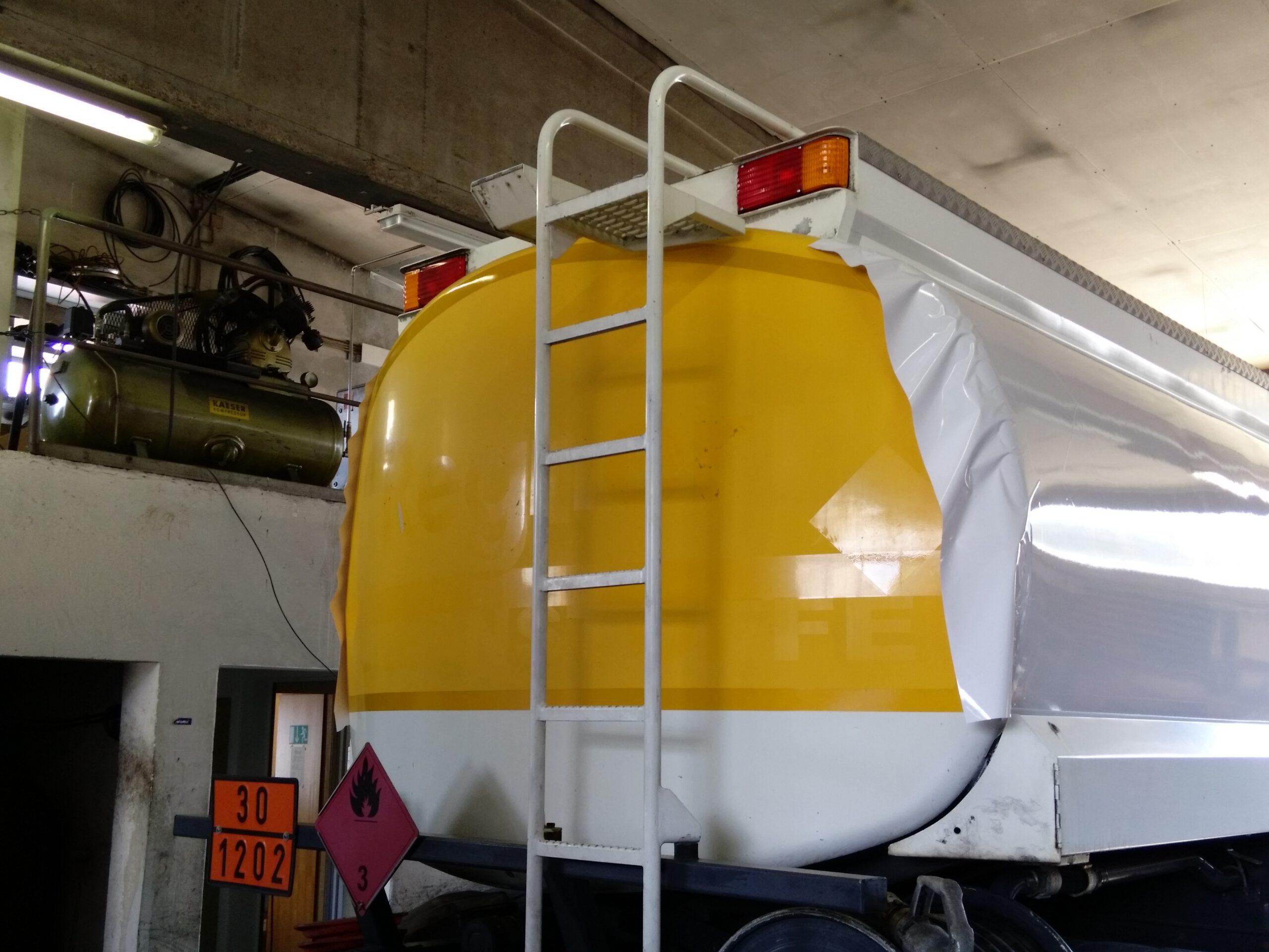 Folierung Tankwagen