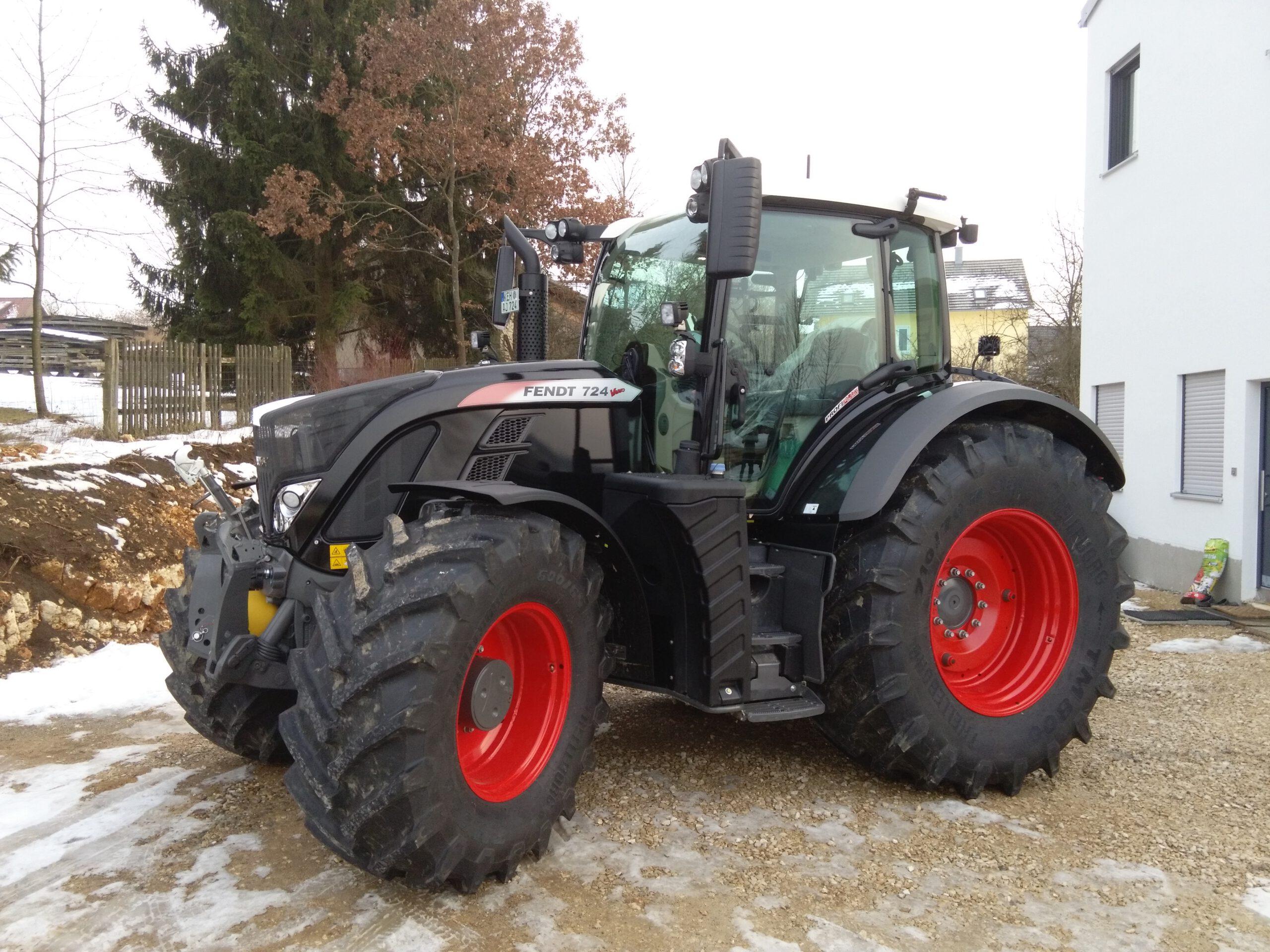 Folierung Fendt Traktor